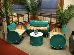creative living furniture. Furniture Recycling Idea Creative Living Ideas Reused Materials Barrels Projects
