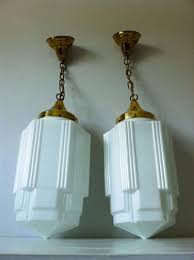 art glass lighting fixtures. art deco skyscraper milk glass light fixtures we have one of these already in the lighting c