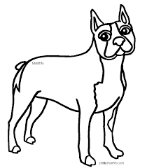 Small Picture boston terrier coloring page 28 images breed coloring pages