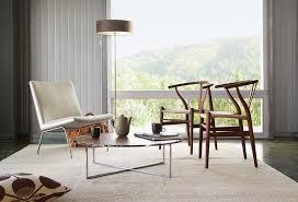 Wishbone Chair Living Room