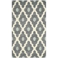 gray and yellow moroccan trellis rug dark ivory area wrought studio reviews