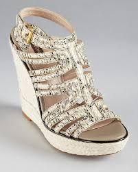 Designer Wedge Sneakers On Sale Joan David Sandals Dayah Strappy Wedge Bloomingdales