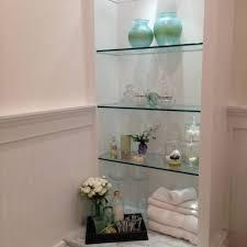 awesome design bathroom glass shelving inspirations aquarius 3 tier glass of 15 awesome ikea glass bathroom