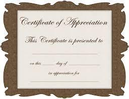 Best Certificate Templates Volunteer Recognition Certificate Templates Best Templates Pictures