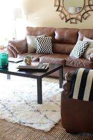 rug for brown sofa 15 living room ideas with brown sofas
