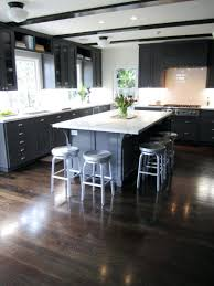 Kitchen Modern White Kitchens With Dark Wood Floors Beadboard Hall Shabby  Chic Style Medium Closetshabby Floor