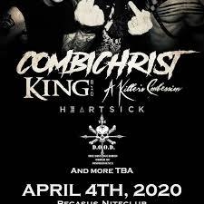 Combichrist Tickets - Pegasus Lounge, Apr 04, 2020 - Bandsintown