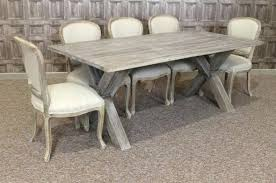 weathered oak round dining tables french cafe chair range interiors table and chairs