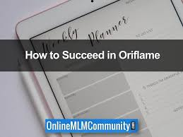 Oriflame Bp Chart How To Succeed With Oriflame Oriflame Success Tips
