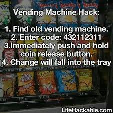 Automatic Products Vending Machine Code Hack Awesome 48 Best Vending Machine Hack Images On Pinterest Vending Machines