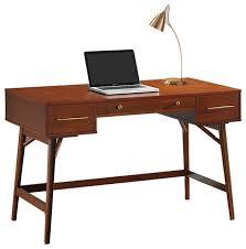 writing desks for home office. Beautiful Writing Home Office Laptop Desk Walnut White Writing With 3 Inside Desks For