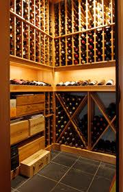 step in bellevue custom wine cellar