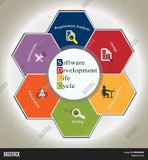 Software Development Life Cycle Phases Software Development Image Photo Free Trial Bigstock