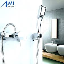 hand held shower head bathtub faucet attachment attractive tub for elegant home ba