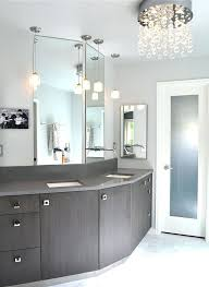 amusing small chandeliers for bathrooms bathroom ideas awesome top lighting your while photos