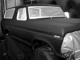 pros and cons of flat black paint 0112or 32zoom ford bronco front passenger side ready to be painted jpg