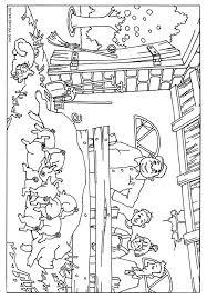 Kinderboerderij Kleurplaat