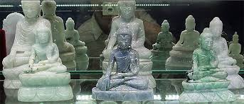 jade buddha sitting