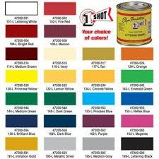 1 Shot Lettering Pinstripe Enamel Paint Tp Tools