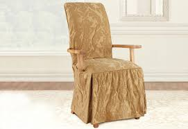 dining chair covers with arms. Matelasse Damask Arm Long Dining Chair Slipcover Covers With Arms I