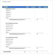 Simple P L Excel Template Pl Report Excel Heatsticks Co