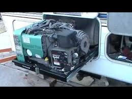 onan generator in 5th wheel trailer 1 youtube