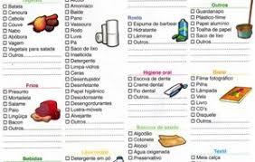Lista De Compras Para El Supermercado Under Fontanacountryinn Com