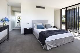 Small Picture Minimalist Bedroom In Project California House With Grey Carpet