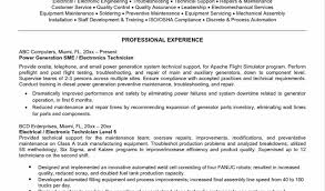 95 5 Parts Resume Good Resumer Example
