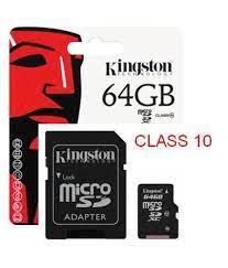 Thẻ Nhớ 64GB Kingston MicroSD Class 10