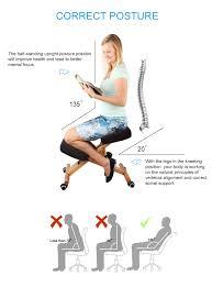 ergonomic chair kneeling. Simple Ergonomic Adjustable Ergonomic Office Chair  Intended Kneeling L