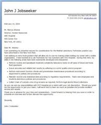Brilliant Ideas Of Entry Level Lab Technician Cover Letter No