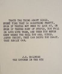 catcher in the rye on Pinterest | Holden Caulfield, Catcher and Jd ... via Relatably.com