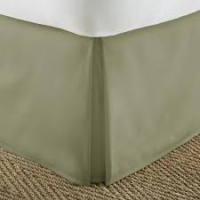 california king bed skirt. Wonderful Bed Becky Cameron Pleated Dust Ruffle Sage California King Performance Bed Skirt In K