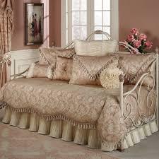 stunning pink fl daybed comforter set design