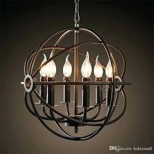 restoration hardware orb chandelier