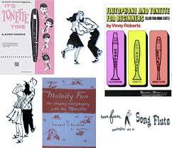 Flutophone Finger Chart Tonettes Song Flutes Flutophones And Precorders