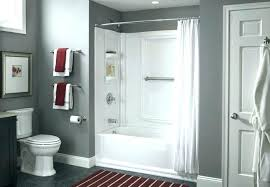 fancy design seamless tub surround bathtub insert paint for refinish and shower home depot kits
