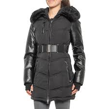 Designer Puffer Coats Women S Clothing Sicily Clothing Canadian Designer Victoria Belted Puffer