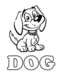 printable picture of a dog. Perfect Dog Coloring  Throughout Printable Picture Of A Dog R