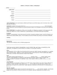 Sample Sublease Agreement Sublet Lease Template