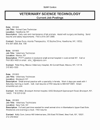 vet assistant resume examples