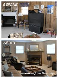 What Paint To Use In Living Room Tutorial How To Paint Paneling Like A Pro Postcards From The Ridge