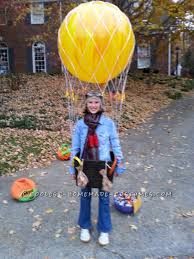 cool homemade hot air balloon costume ready for liftoff
