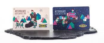 Ikea aktionskarte adventskalender