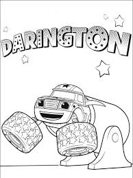 Blaze Coloring Pages For Printable Jokingartcom Blaze Coloring Pages