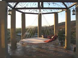 13 Best Porch Swing Beds Images On Pinterest | Porch Swing Beds Within Round  Outdoor Hammock Bed