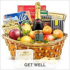 get well gourmet gift basket