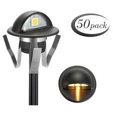 Bronze Fvtled Pack Of 6 Low Voltage Led Stair Deck Lights