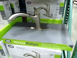 waterridge kitchen faucet water ridge installation pull down parts manual waterridge kitchen faucet